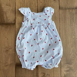 Carter's Just One You Romper Bubble Ladybug Outfit